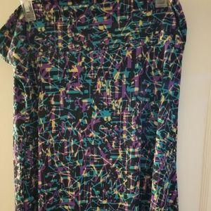 3xl Azure skirt from Lularoe, NWOT